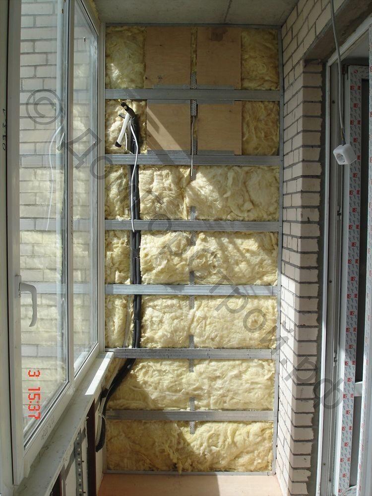 Утепление балкона: фото работ от домгорстрой.