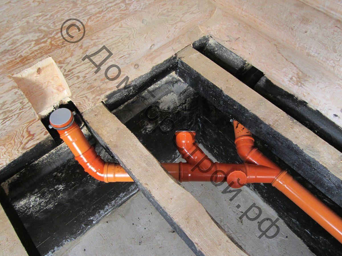 Как утеплить трубу канализацию в частном доме своими руками 397